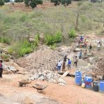 The Water Project: Mitini Community -  Sand Dam Construction