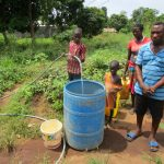 The Water Project: Benke Community, Waysaya Road -  Yield Testing
