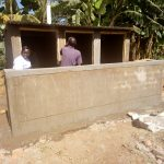 The Water Project: El'longo Secondary School -  Latrine Construction