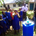 The Water Project: Gidagadi Primary School -  Hand Washing Stations