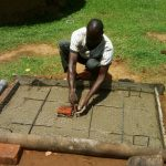 The Water Project: Matsakha A Community, Kombwa Spring -  Sanitation Platform Construction