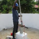 The Water Project: Benke Community, Waysaya Road -  Pump Installation