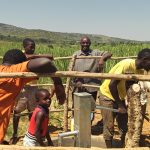 The Water Project: Rwentale-Kyamugenyi Community -  Clean Water
