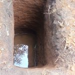 The Water Project: Matsakha A Community -  Pit Dug For Sanitation Platform