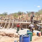 The Water Project: Katunguli Community -  Sand Dam Construction