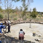 The Water Project: Ilinge Primary School -  Tank Construction