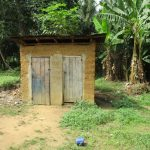 The Water Project: Tholmosor Community, Alpha Dabola Road -  Latrine