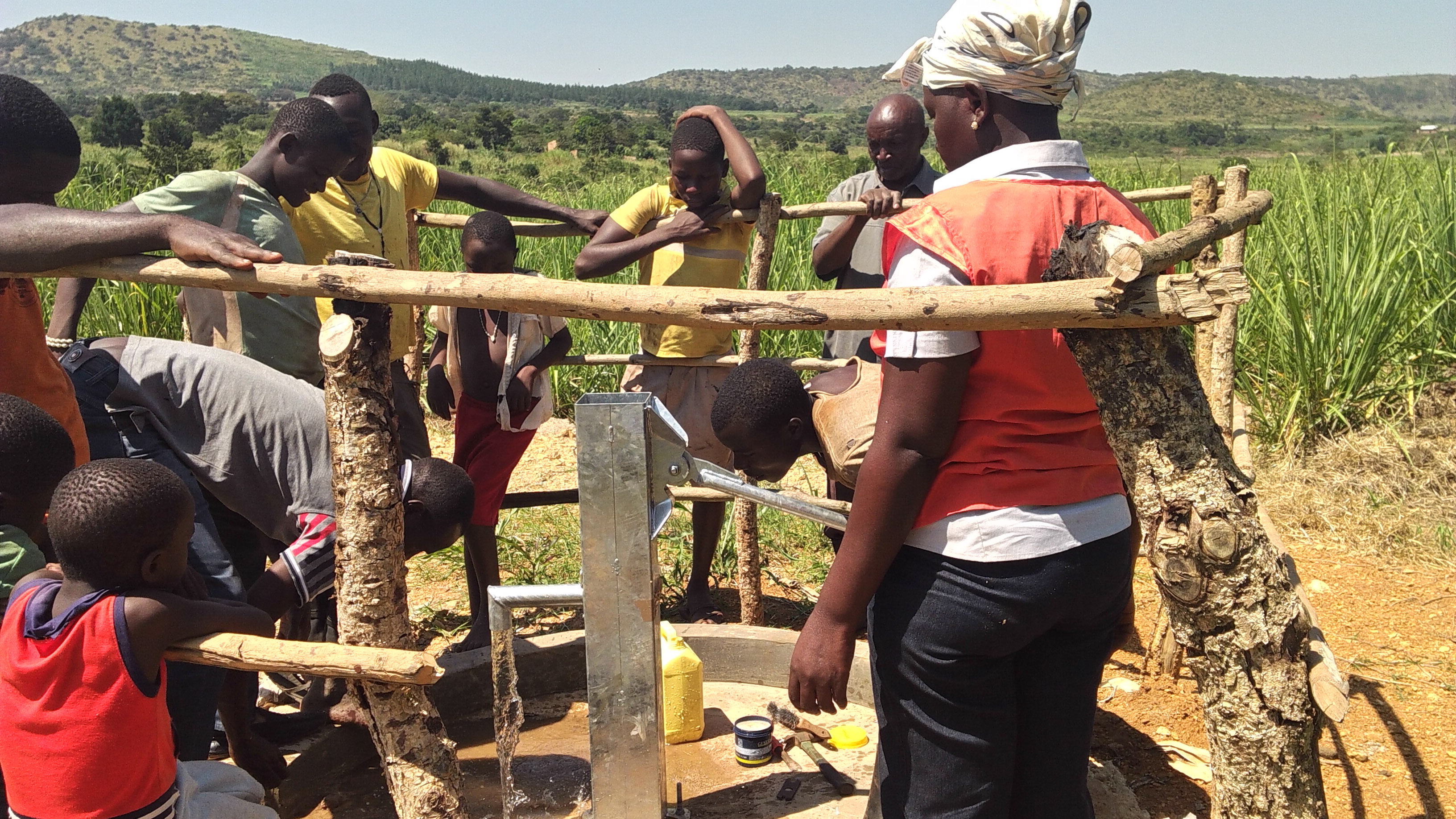 The Water Project : 23-uganda6080-clean-water