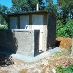 The Water Project: Iyenga Primary School -  Finished Latrines