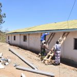 The Water Project: Ilinge Primary School -  Tank Guttering