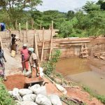 The Water Project: Kyumbe Community -  Sand Dam Construction
