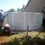 The Water Project: El'longo Secondary School -  Tank Construction