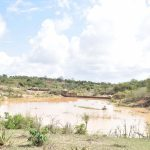 The Water Project: Katunguli Community -  Finished Sand Dam