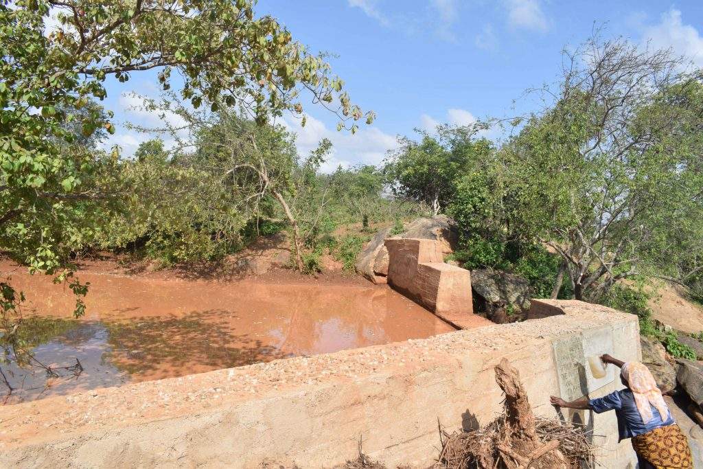 The Water Project : 29-kenya4860-finished-sand-dam