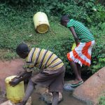 The Water Project: Bumavi Community A -  Current Water Source