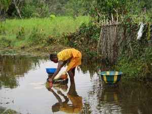 The Water Project:  Fetching Swamp Water