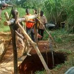 The Water Project: Rubona Kyagaitani Community -  Excavation