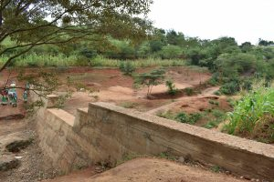 The Water Project:  Finished Sand Dam
