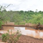 The Water Project: Katuluni Community -  Finished Sand Dam