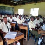 The Water Project: Bushili Secondary School -  In Class
