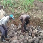 The Water Project: Karongo-Dum Community -  Construction