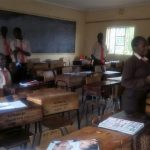The Water Project: Shibale Secondary School -  Class Break