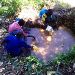 The Water Project: Chebunaywa Primary School -  Current Water Source