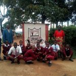 The Water Project: George Khaniri Kaptisi Mixed Secondary School -  School Entrance