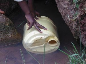 The Water Project:  Dunking A Jerrycan