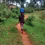 The Water Project: Bumavi Community, Esther Spring -  Carrying Water