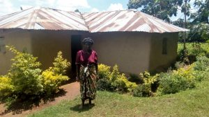 The Water Project:  Margaret Jumba At Her Home