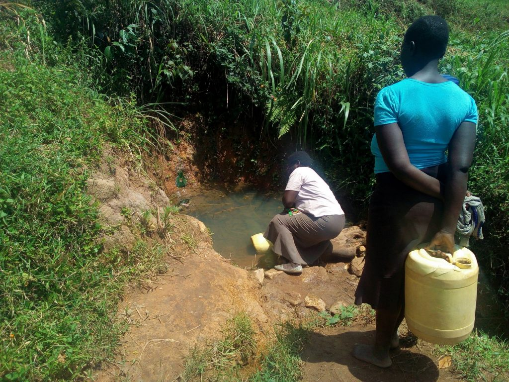 The Water Project : 5-kenya18139-fetching-water