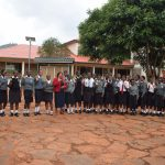The Water Project: Kaani Lions Secondary School -  Students And Staff