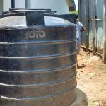 The Water Project: JM Rembe Primary School -  Plastic Tank
