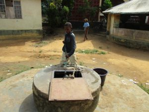The Water Project:  Open Well