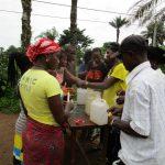 The Water Project: Benke Community, Waysaya Road -  Making Hand Washing Stations