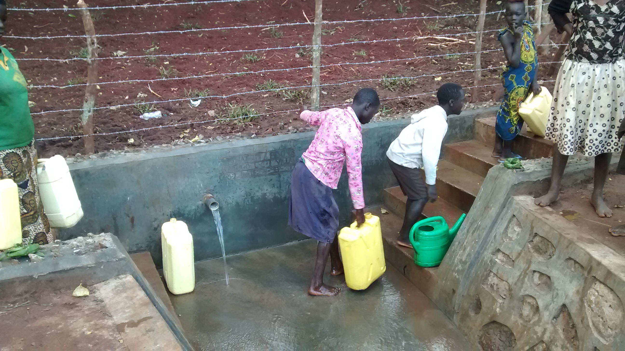 The Water Project : 6-uganda6086-clean-water
