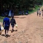 The Water Project: JM Rembe Primary School -  Students Walking To The Spring