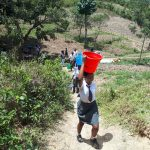 The Water Project: Imbale Secondary School -  Going To Fetch Water