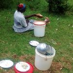 The Water Project: Bumavi Community, Esther Spring -  A Woman At Her Home