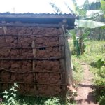 The Water Project: Wasenje Community, Margaret Jumba Spring -  Latrine