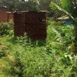 The Water Project: Elukani Community -  Latrine By A Farm