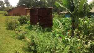 The Water Project:  Latrine By A Farm