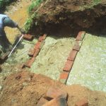 The Water Project: Mudete Community -  Spring Construction
