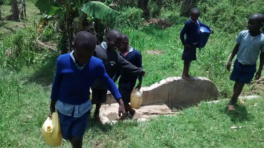 The Water Project : 8-kenya18019-kobala-spring