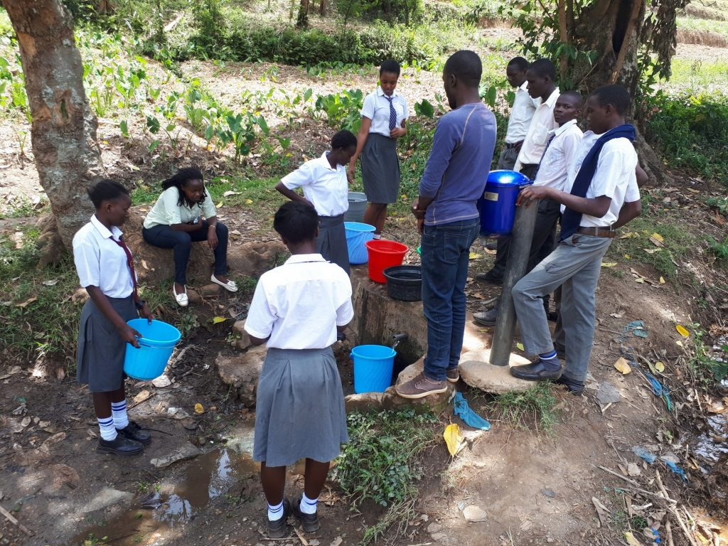 The Water Project : 8-kenya18053-a-current-water-source
