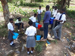 The Water Project:  A Current Water Source