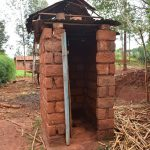 The Water Project: Kathuni Community A -  Latrine