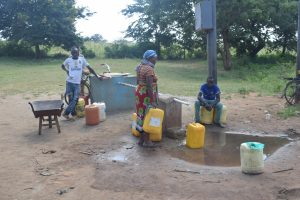 The Water Project:  Solar Well In Community