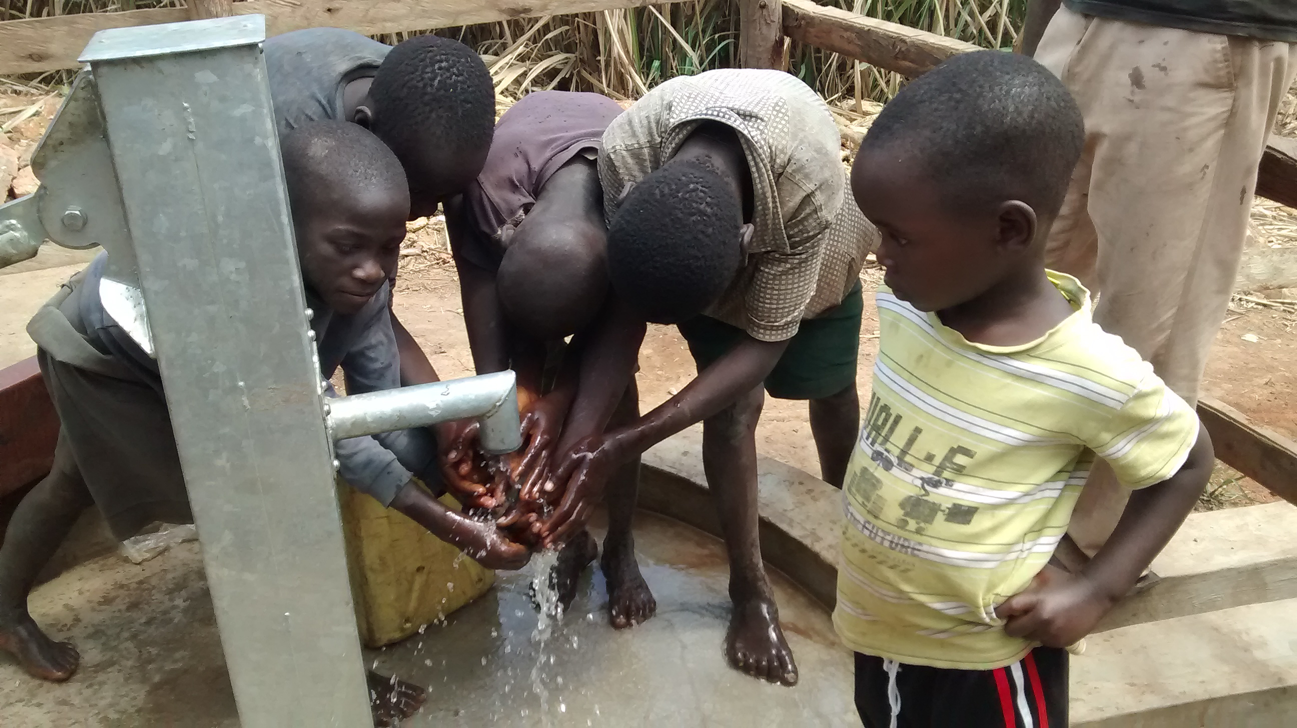 The Water Project : 8-uganda6083-clean-water